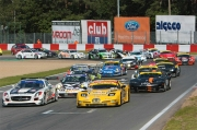 De start van de 24 Hours of Zolder 2011